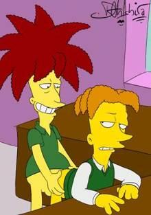 #pic1280057: Cecil Terwilliger – Dahlshita – Sideshow Bob – The Simpsons – animated