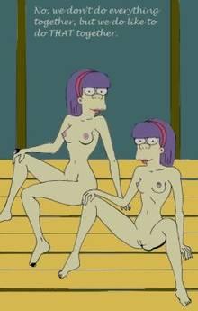 #pic1085095: HomerJySimpson – Sherri – Terri – The Simpsons
