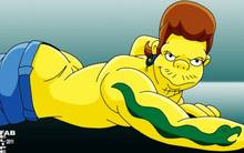 #pic1084864: FabFelipe – Snake Jailbird – The Simpsons