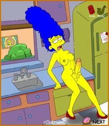 #pic1085347: Gijoepwns – Marge Simpson – Maude Flanders – The Simpsons – animated