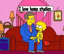 #pic1054471: Bart Simpson – Lisa Simpson – Seymour Skinner – The Simpsons – animated