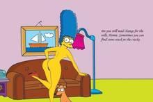 #pic1049829: HomerJySimpson – Marge Simpson – Santa's Little Helper – The Simpsons