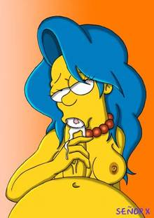 #pic1049896: Homer Simpson – Marge Simpson – The Simpsons – se&ntilde-or x
