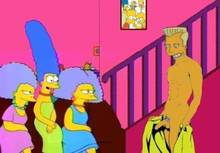 #pic1049826: HomerJySimpson – Marge Simpson – Patty Bouvier – Selma Bouvier – The Simpsons – karl