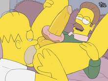 #pic1044296: Homer Simpson – Ned Flanders – The Simpsons – iDrewThis