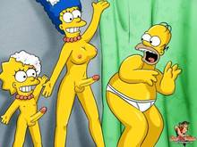 #pic195361: Homer Simpson – Lisa Simpson – Marge Simpson – SheAniMale – The Simpsons