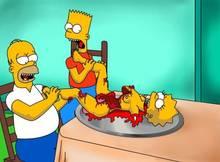 #pic194629: Bart Simpson – Homer Simpson – Lisa Simpson – The Simpsons – Wolverine (artist)