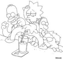 #pic191027: Barney Gumble – Homer Simpson – Lenny Leonard – Lisa Simpson – The Simpsons – disnae