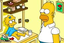 #pic190435: Homer Simpson – Maggie Simpson – The Simpsons – itomic