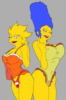 #pic595810: Lisa Simpson – Marge Simpson – The Simpsons