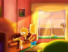 #pic1001366: Ahbihamo – Bart Simpson – Lisa Simpson – Maggie Simpson – The Simpsons