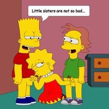 #pic997846: Bart Simpson – Charlie – Lisa Simpson – The Simpsons
