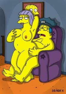 #pic995340: Chief Wiggum – Sarah Wiggum – The Simpsons – se&ntilde-or x