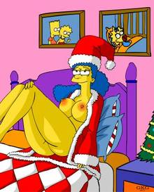 #pic993705: Christmas – GKG – Marge Simpson – The Simpsons