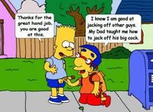 #pic1271622: Bart Simpson – Milhouse Van Houten – The Simpsons – animated