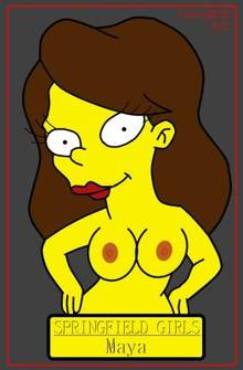 #pic926713: CyborgBLUE – Maya – The Simpsons