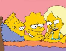 #pic917930: Bart Simpson – Greta Wolfcastle – Lisa Simpson – The Simpsons