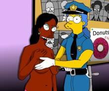 #pic492649: Apu Nahasapeemapetilon – Homer Simpson – Manjula Nahasapeemapetilon – Marge Simpson – The Simpsons