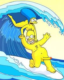 #pic477971: Homer Simpson – Marge Simpson – The Simpsons