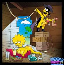 #pic423630: Bart Simpson – Lisa Simpson – The Simpsons – Toon-Party – el barto