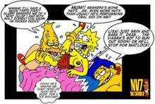 #pic423019: Abraham Simpson – Lisa Simpson – Marge Simpson – The Simpsons – nev