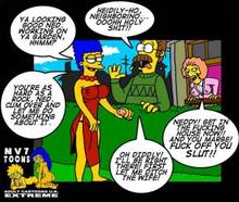 #pic422970: Marge Simpson – Maude Flanders – Ned Flanders – The Simpsons – nev