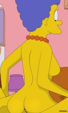 #pic1033863: ChainMale – Marge Simpson – The Simpsons