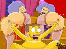 #pic1266104: Patty Bouvier – Selma Bouvier – The Simpsons – Toon BDSM – Waylon Smithers
