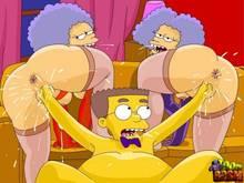 #pic1266104: Patty Bouvier – Selma Bouvier – The Simpsons – Toon BDSM – Waylon Smithers