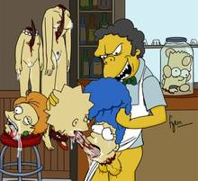 #pic1032234: Bart Simpson – Edna Krabappel – Fyren – Lisa Simpson – Marge Simpson – Moe Szyslak – The Simpsons