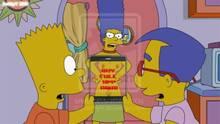 #pic1024574: Bart Simpson – Marge Simpson – Milhouse Van Houten – Snoopy (artist) – The Simpsons