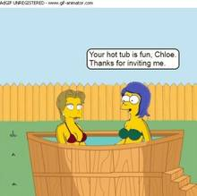 #pic1044014: Chloe Talbot – HomerJySimpson – Marge Simpson – The Simpsons – animated