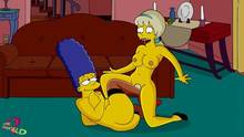 #pic1040400: Claudia-R – Lurleen Lumpkin – Marge Simpson – The Simpsons