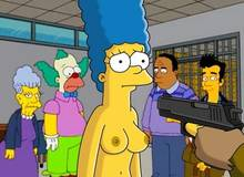 #pic1264570: Agnes Skinner – Julius Hibbert – Krusty The Clown – Marge Simpson – The Simpsons