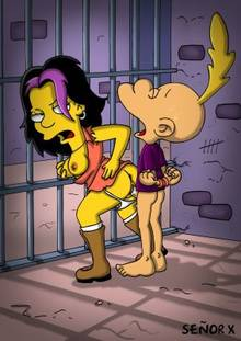 #pic1038490: Gina Vendetti – The Simpsons – Titeuf – crossover – se&ntilde-or x