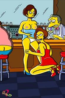 #pic1038924: Barney Gumble – Claudia-R – Edna Krabappel – Maude Flanders – Moe Szyslak – The Simpsons