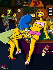 #pic1038922: Claudia-R – Marge Simpson – Maude Flanders – Ned Flanders – The Simpsons