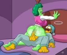 #pic1036539: Maude Flanders – Ned Flanders – The Simpsons – kogeikun