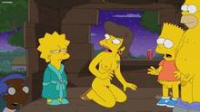 #pic1036275: Bart Simpson – ChainMale – Homer Simpson – Lisa Simpson – Milhouse Van Houten – Outhouse – Shauna Chalmers – The Simpsons