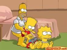 #pic1036148: Bart Simpson – Homer Simpson – Lisa Simpson – The Simpsons – comics-toons