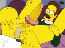 #pic1264482: Homer Simpson – Ned Flanders – The Simpsons – iDrewThis