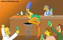 #pic989687: Barney Gumble – Homer Simpson – Lenny Leonard – Marge Simpson – Moe – Moe Szyslak – The Simpsons