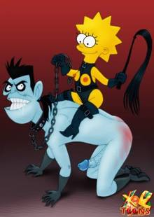 #pic986645: Dr. Drakken – Kim Possible – Lisa Simpson – The Simpsons – crossover – xl-toons
