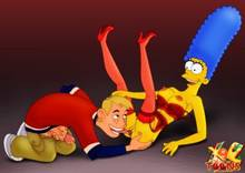 #pic986659: Kim Possible – Marge Simpson – Ron Stoppable – The Simpsons – crossover – xl-toons
