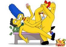 #pic981553: Homer Simpson – Marge Simpson – Moe Szyslak – The Simpsons – xl-toons