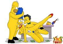 #pic981552: Homer Simpson – Marge Simpson – Moe Szyslak – The Simpsons – xl-toons
