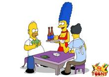 #pic981549: Homer Simpson – Marge Simpson – Moe Szyslak – The Simpsons – xl-toons