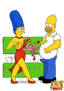 #pic981543: Homer Simpson – Marge Simpson – The Simpsons – xl-toons