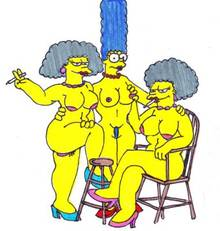 #pic979981: Marge Simpson – Patty Bouvier – Selma Bouvier – The Simpsons – xiro