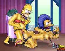 #pic1261856: Homer Simpson – Patty Bouvier – The Simpsons – Toon BDSM